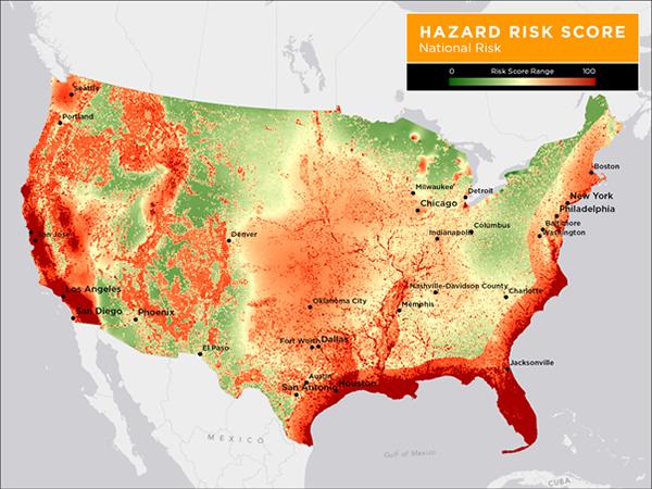 hazard risk score